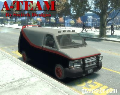 GTA 4 A Team Van Mod
