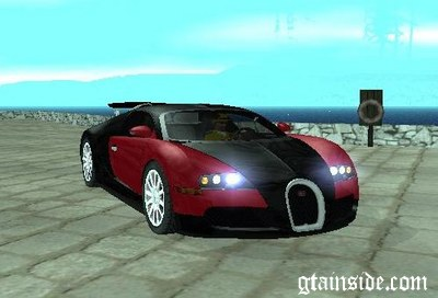 gta san andreas bugatti veyron 16 4 car sound mod. Black Bedroom Furniture Sets. Home Design Ideas