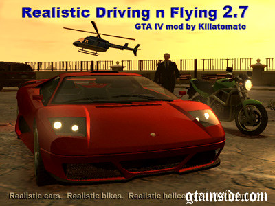Realistic Driving n Flying 2.7
