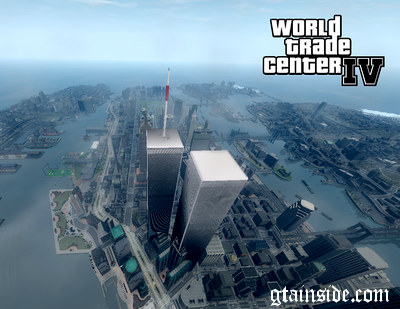 GTA 4 World Trade Center IV v0.1a Mod - GTAinside.com  World Trade Center Map on statue of liberty map, world trade center street map, world trade center memorial map, world trade center area map, ground zero map, world trade center site map, world trade center subway map, world financial center map, marriott world trade center map, world trade center buildings map, empire state building map, world trade center complex map, battery park city map, 4 wtc map, freedom tower map,