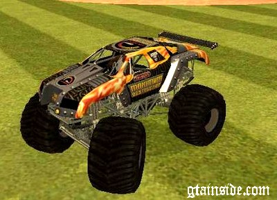 Gta San Andreas Monster Truck Maximum Destruction Mod Gtainside Com