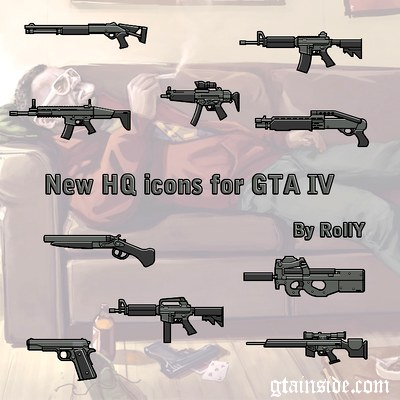 New Hq Icons For GTA IV