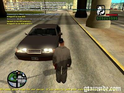 Gta San Andreas Remote Car Control For Sa Mp Mod
