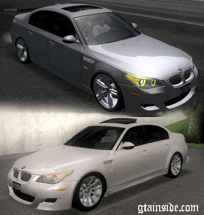 GTA San Andreas 2009 BMW M5 e60 Mod - GTAinside com