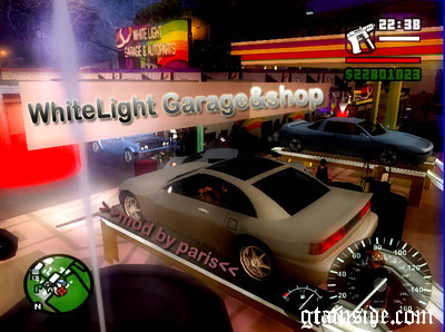WHITELIGHT Garage & Autoparts Shop