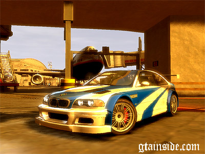 gta 4 bmw m3 gtr nfs most wanted mod gtainside com
