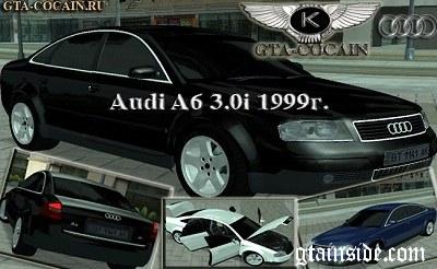 Gta San Andreas 1999 Audi A6 3 0i Mod Gtainside Com
