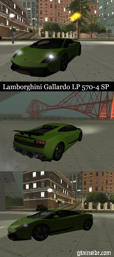 Gta San Andreas Lamborghini Gallardo Lp 570 4 Superleggera Mod Gtainside Com