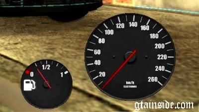 GTA San Andreas Speedometer + Gasoline v1 Mod - GTAinside com