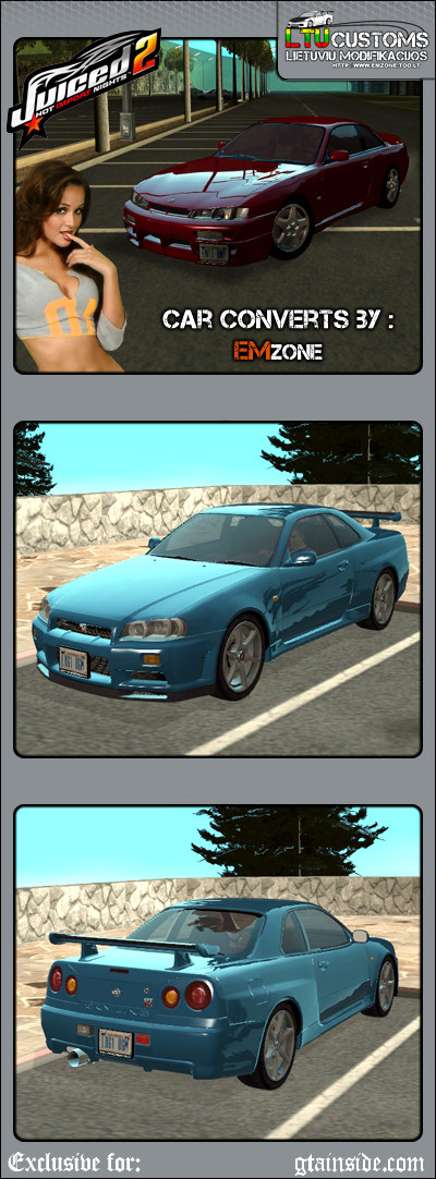 Nissan Skyline GTR - Stock