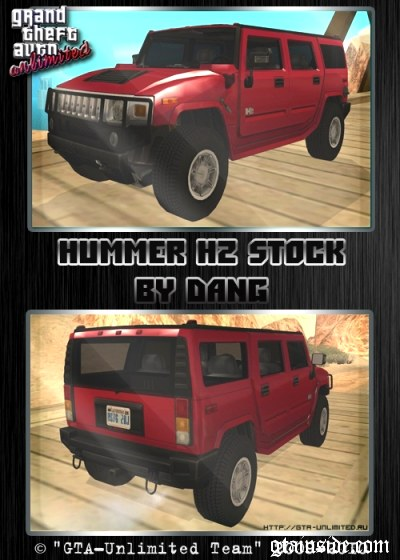 Hummer H2 SUV Stock