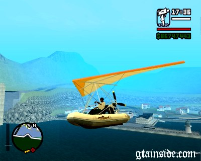Wingy Dinghy (Crazy Flying Boat)