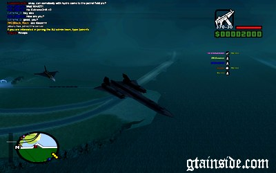 GTA San Andreas SR-71 Blackbird Mod - GTAinside com