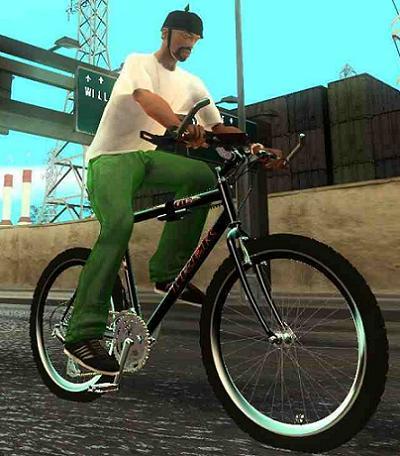 Gta San Andreas Chong S Mountain Bike Mod