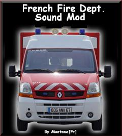 French Fire Departement Siren