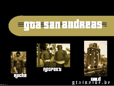 GTA San Andreas Gold Wallpaper