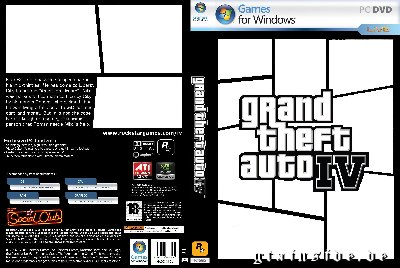 GTA IV Empty PC Cover