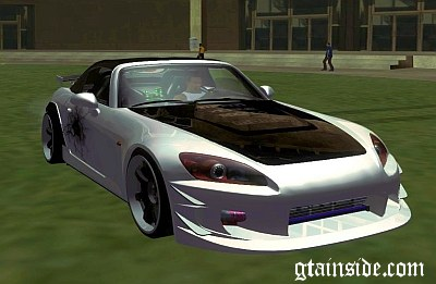Honda S2000 BlueNeon