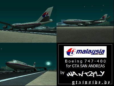 Malaysia Airlines B747 400