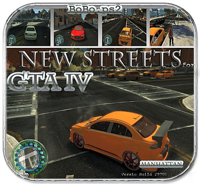 New Streets for GTA IV