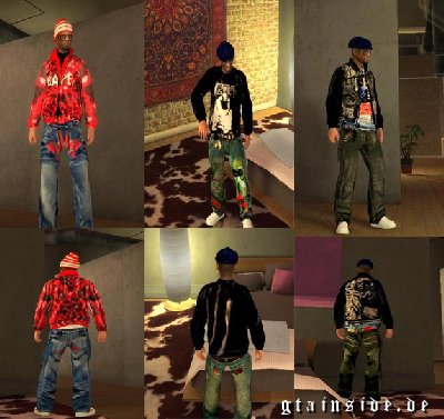 GTA 4 Clothing (complete) - Mods and Downloads - GTAinside com