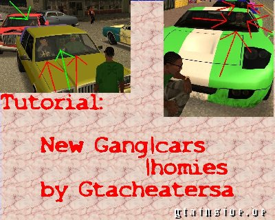 Change Gang-cars/homies Tutorial