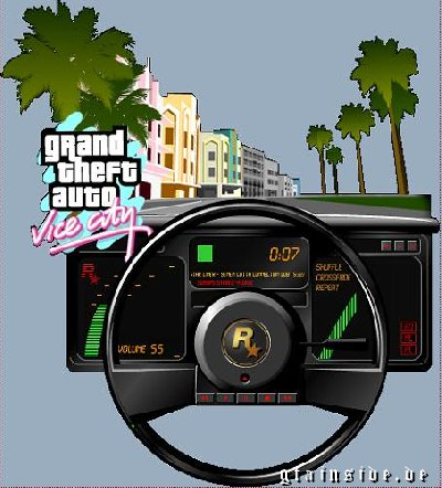 GTA Vice City Winamp Skin