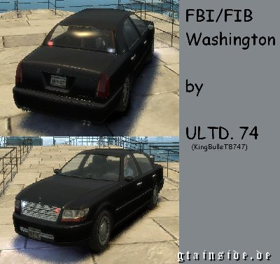 Washington FBI Car