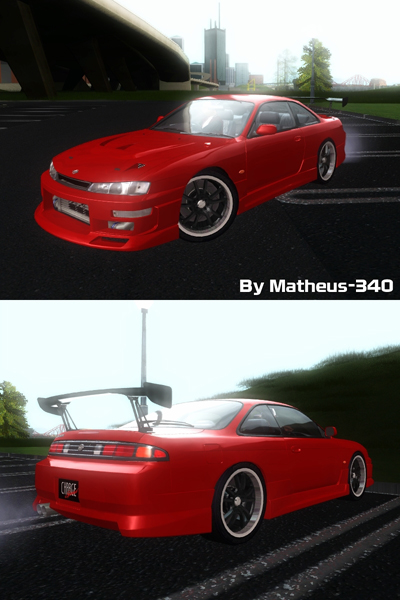 Nissan Silvia S14 Chargespeed