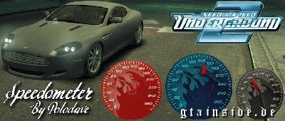 حصريا عدادات لسيارات لعبة gta iv Speedoflamescreengtaivpolodave