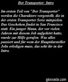 Der Transporter: Intro