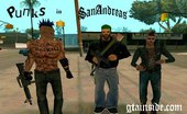 Punks to San Andreas