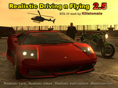 Realistic Driving n Flying 2.5