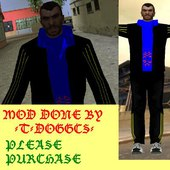 Niko Bellic in Adidas Outfit