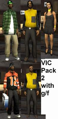 Vic pack 2 with Catalina