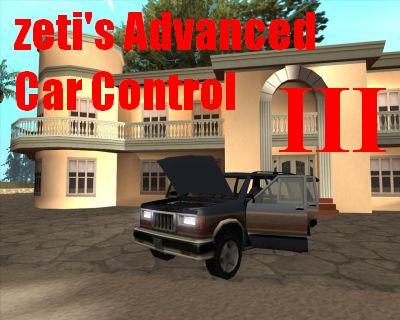 zeti's advanced car control (kaput bagaj kapı açma)