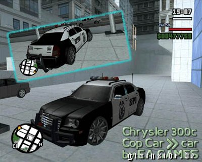 2007 Chrysler 300c Cop Car