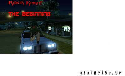 Rider Knight - The Beginning Teil1