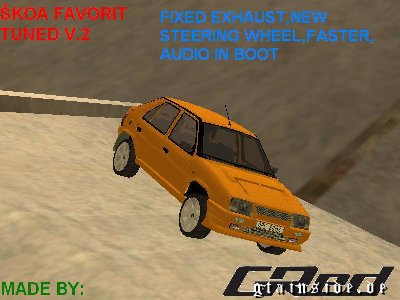 Skoda Favorit Tuned v.2