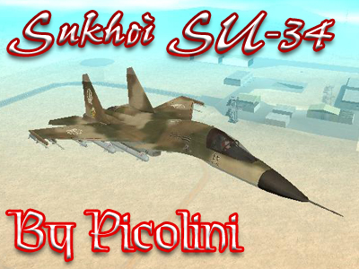 Sukhoi SU-34 Version 2