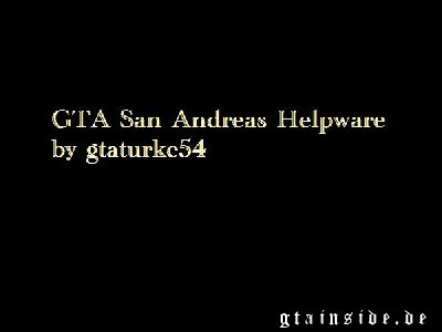 GTA San Andreas Helpware