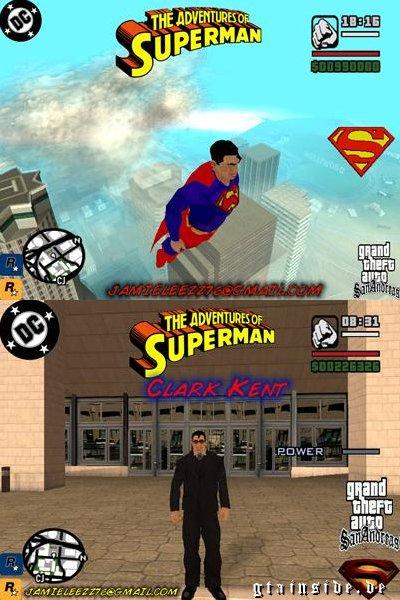 Gta San Andreas Superman Mod Cheats Gta San Andreas Superman Beta