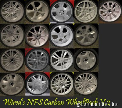 Wired's NFS:Carbon Wheel Pack v.2