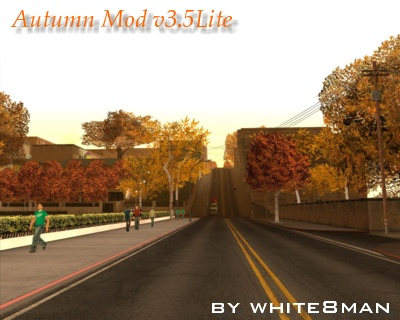 GTA San Andreas Autumn Mod v3 5Lite Mod - GTAinside com