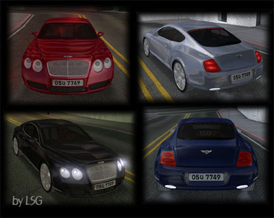 Gta San Andreas Bentley Continental Gt Mod Gtainside Com
