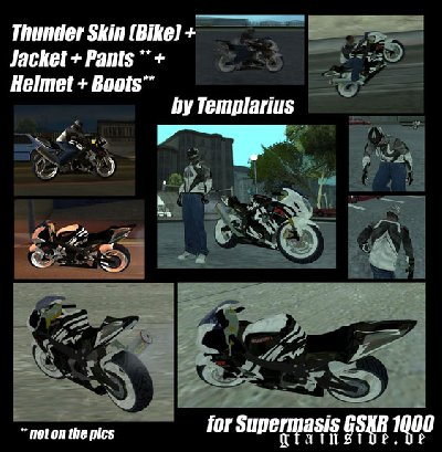 Thunder Theme for GSXR 1000