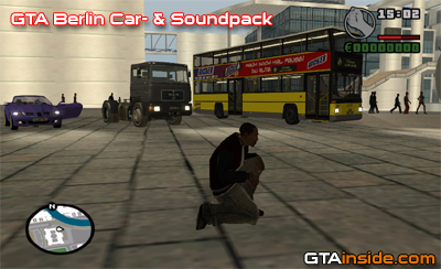 GTA Berlin Car- & Soundpack