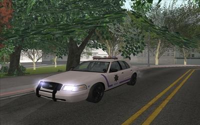 GTA San Andreas Idaho Canyon County Sheriff Crown Vic Mod