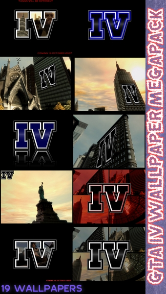 GTA IV Wallpaper Megapack