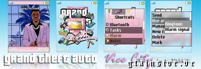 [Themes W810i / K750i / W800i / D750i / W700i] GTA Vice City